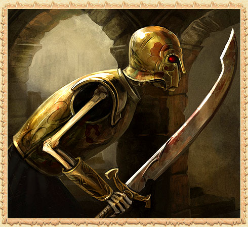 Скелет гвардеец