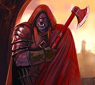 Наемник из клана «Красные топоры»