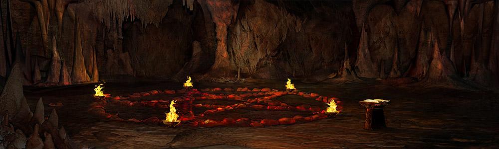 Пещера демонолога. Галерея изображений онлайн игры Легенда: Наследие Драконов
