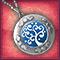 Медальон «Сапфировая сказка»