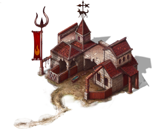 Псарня в поместье - игра Двар - Легенда, наследие Драконов - магмары